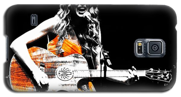 Taylor Swift 9s Galaxy S5 Case by Brian Reaves