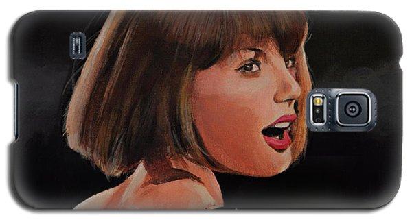 Taylor Swift Galaxy S5 Case by Bill Dunkley