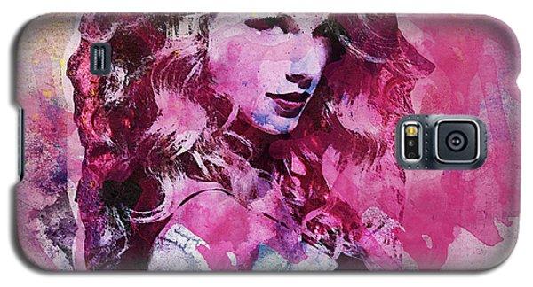 Taylor Swift - Oncore Galaxy S5 Case by Sir Josef - Social Critic - ART
