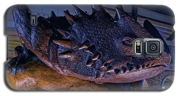Galaxy S5 Case featuring the photograph Tcu Frog Mascot by Jonathan Davison