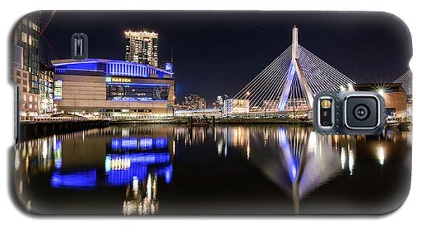 Td Garden And The Zakim Bridge At Night Galaxy S5 Case