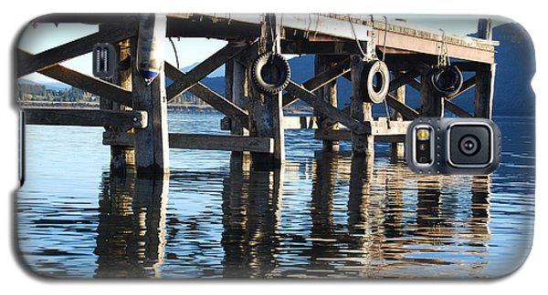 Galaxy S5 Case featuring the photograph Te Anau Pier by Jocelyn Friis