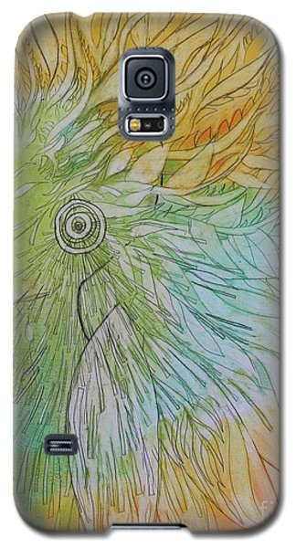 Galaxy S5 Case featuring the drawing Te-fiti by Marat Essex