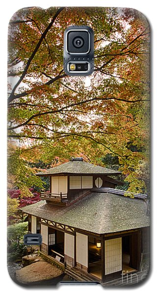 Galaxy S5 Case featuring the photograph Tea Ceremony Room by Tad Kanazaki