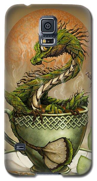 Tea Dragon Galaxy S5 Case by Stanley Morrison