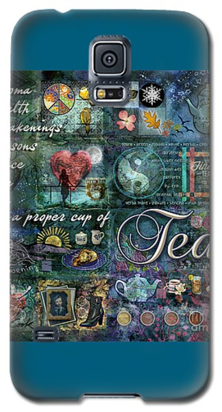 Galaxy S5 Case featuring the digital art Tea by Evie Cook