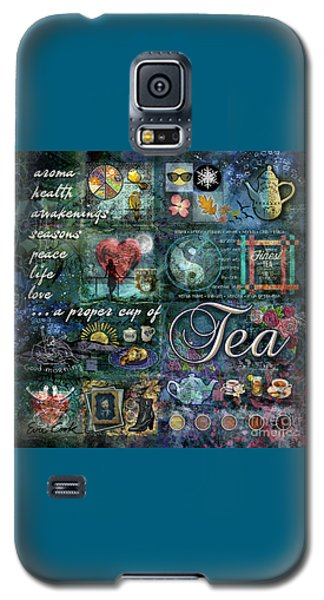 Tea Galaxy S5 Case