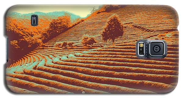 Tea Field Galaxy S5 Case