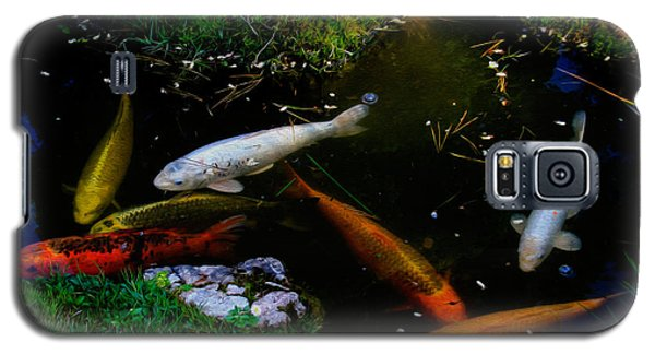 Tea Garden Koi 2 Galaxy S5 Case