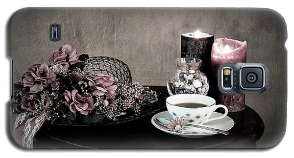 Galaxy S5 Case featuring the photograph Tea Party Time by Sherry Hallemeier