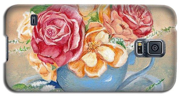 Tea Roses Galaxy S5 Case