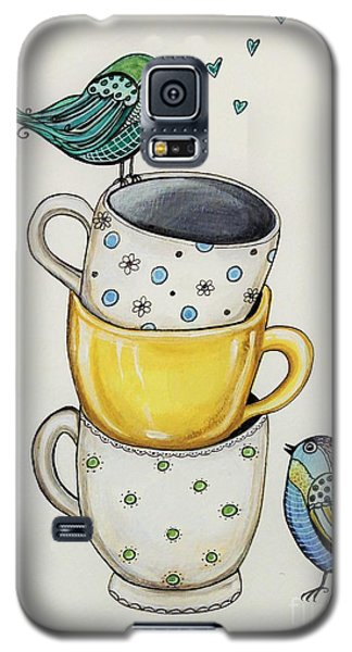 Tea Time Friends Galaxy S5 Case