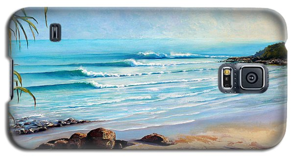 Tea Tree Bay Noosa Heads Australia Galaxy S5 Case by Chris Hobel