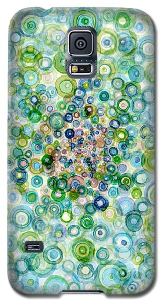 Teal And Olive Concavity Galaxy S5 Case