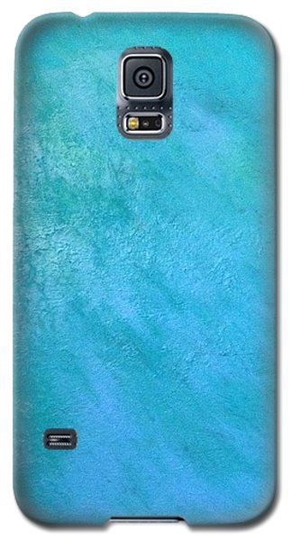 Teal Galaxy S5 Case