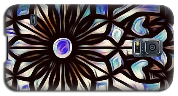Teal Purple Vibe Galaxy S5 Case