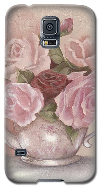 Teapot Roses Galaxy S5 Case by Chris Hobel