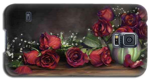 Teapot Roses Galaxy S5 Case