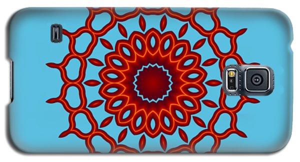 Teardrop Fractal Mandala Galaxy S5 Case