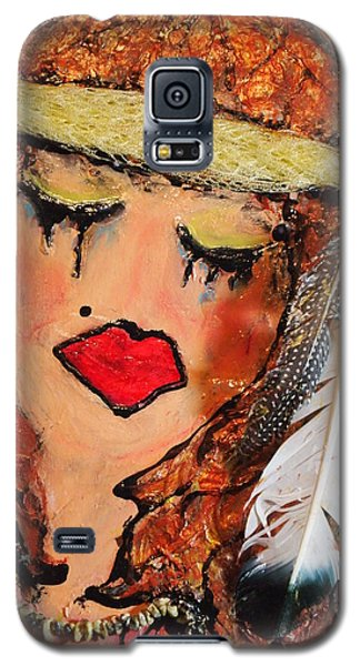 Tears Of Suffering Galaxy S5 Case by Laura  Grisham