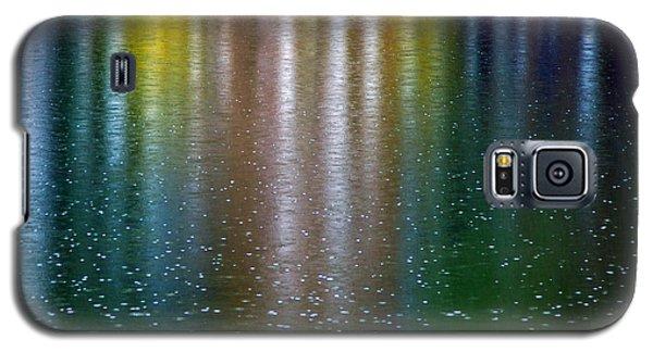 Galaxy S5 Case featuring the photograph Tears On A Rainbow by John Haldane