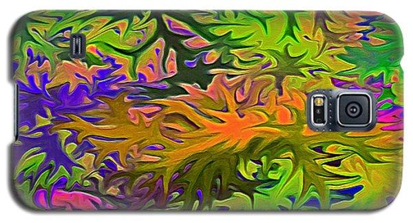 Technicolor Leaves Galaxy S5 Case