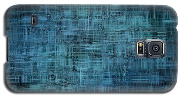 Technology Abstract Background Galaxy S5 Case by Michal Boubin