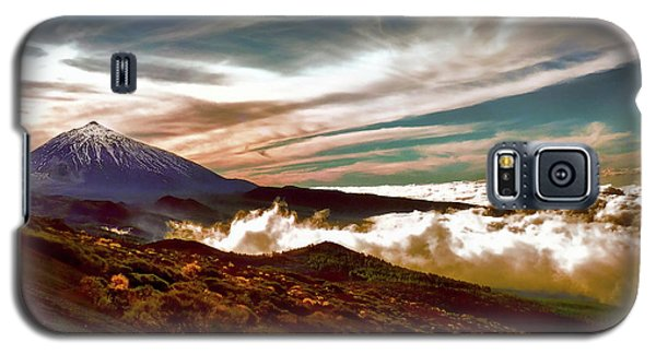 Teide Volcano - Rolling Sea Of Clouds At Sunset Galaxy S5 Case