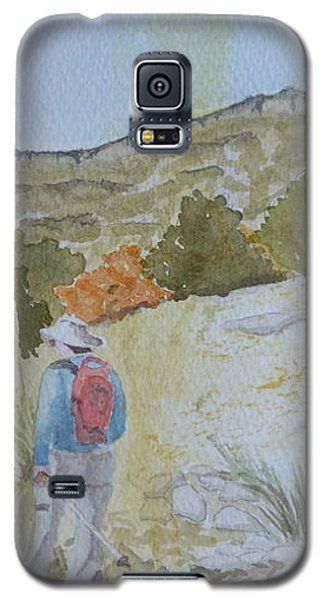 Tejas Trail Doodle Galaxy S5 Case by Joel Deutsch