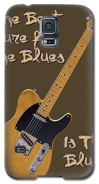 Tele Blues Cure Galaxy S5 Case