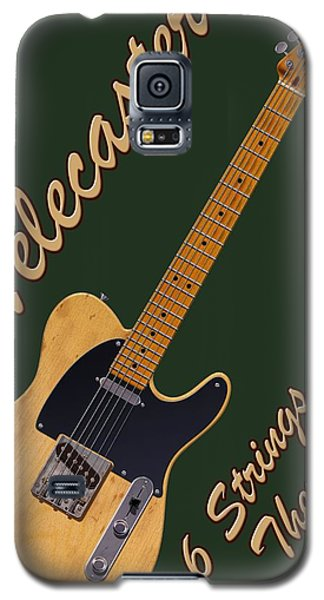 Telecaster Therapy T-shirt Galaxy S5 Case