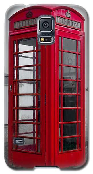 Telephone Box By The Sea I Galaxy S5 Case