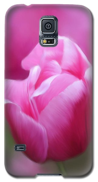 Tell Your Heart To Beat Again - Flower Art Galaxy S5 Case