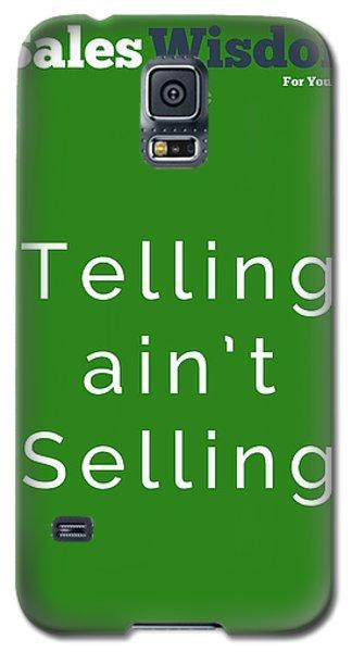 Telling Ain't Selling Galaxy S5 Case by Ike Krieger