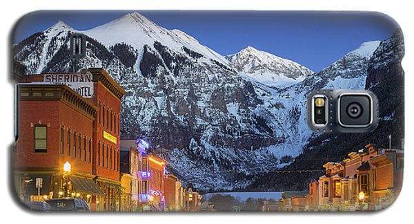 Telluride Main Street 3 Galaxy S5 Case