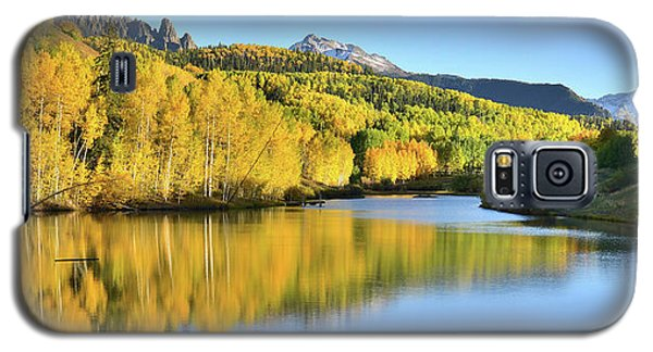 Galaxy S5 Case featuring the photograph Telluride Mountain Lake by Ray Mathis