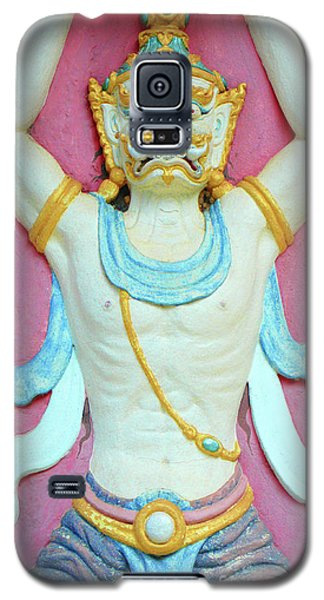 Temple Art In Thailand Galaxy S5 Case