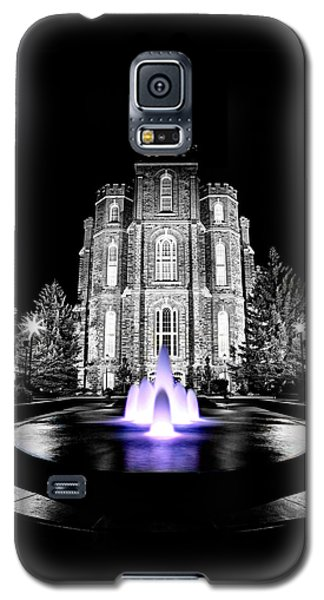 Temple Fountain  Galaxy S5 Case by David Andersen