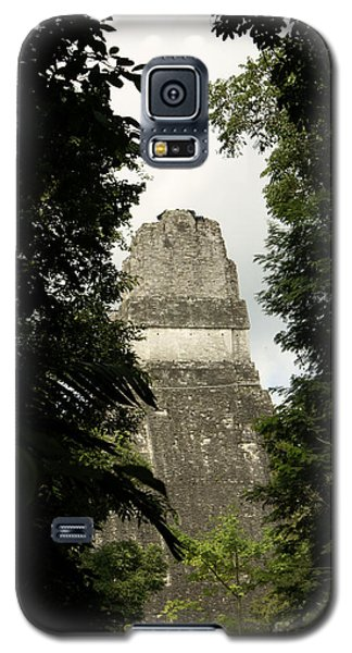 Temple In The Trees Tikal Guatemala Galaxy S5 Case