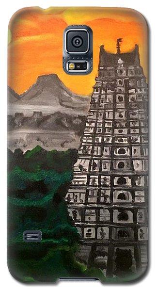 Temple Near The Hills Galaxy S5 Case