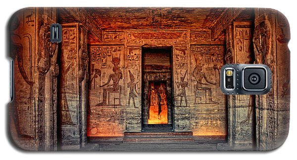 Temple Of Hathor And Nefertari Abu Simbel Galaxy S5 Case