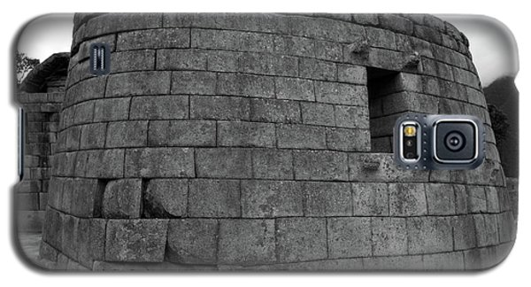 Galaxy S5 Case featuring the photograph Temple Of The Sun, Machu Picchu, Peru by Aidan Moran
