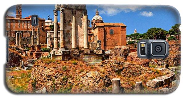 Temple Of Vesta Galaxy S5 Case by Anthony Dezenzio