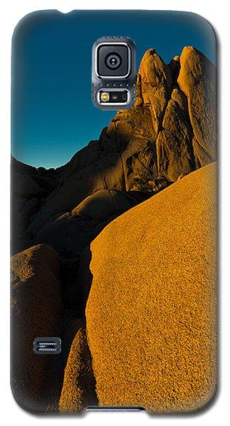 Temple Rock, Joshua Tree, Sunrise Galaxy S5 Case