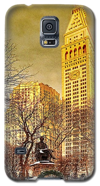 Ten Past Four At Madison Square Park Galaxy S5 Case