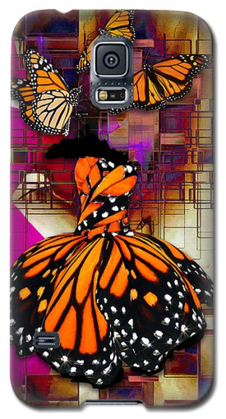 Galaxy S5 Case featuring the mixed media Tenderly by Marvin Blaine
