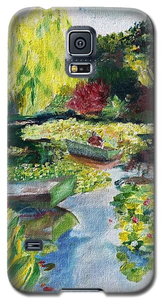 Tending The Pond Galaxy S5 Case