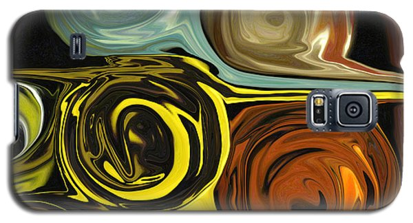 Galaxy S5 Case featuring the digital art Tendrils by Mary Bedy