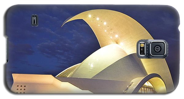 Galaxy S5 Case featuring the photograph Tenerife Auditorium At Night by Marek Stepan