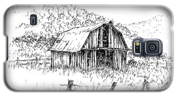 Tennessee Hills With Barn Galaxy S5 Case